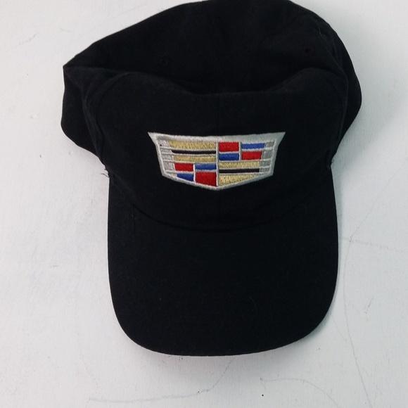 2cc0d215ea398 Hammette Other - Cadillac Crest Logo Black Hat Baseball Cap